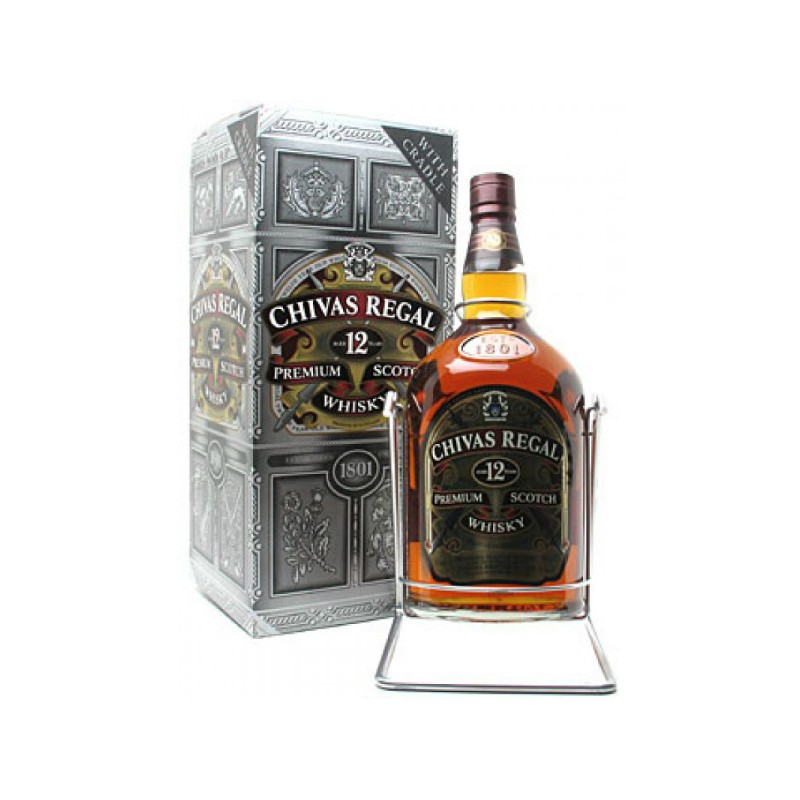 whisky chivas regal 12 a os 4500 ml. Black Bedroom Furniture Sets. Home Design Ideas