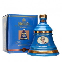 BELL'S DECANTER 8 YEARS OLD HM QUEEN ELIZABETH II 75th BIRTHDAY