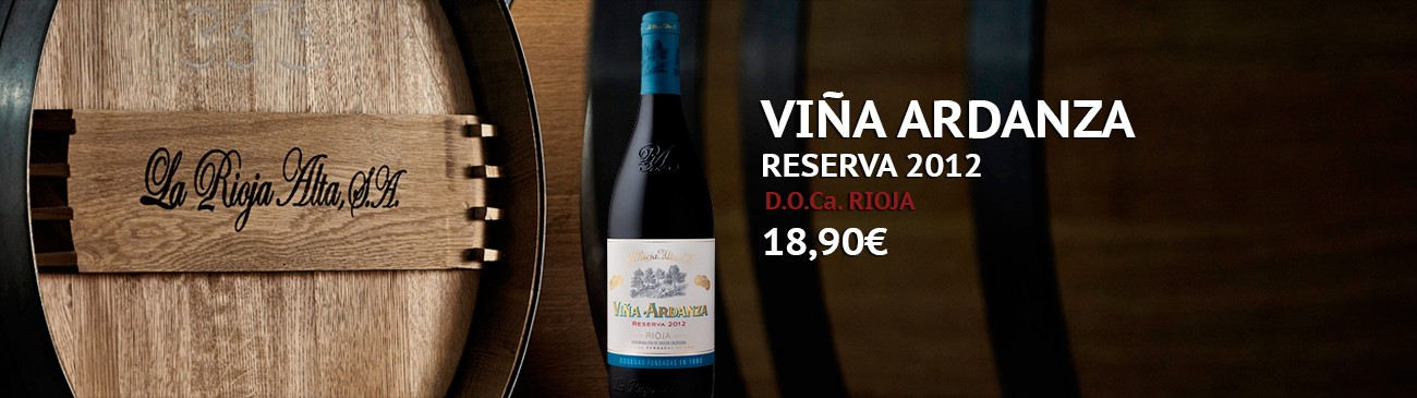Viña Ardanza Reserva 2012 on sale