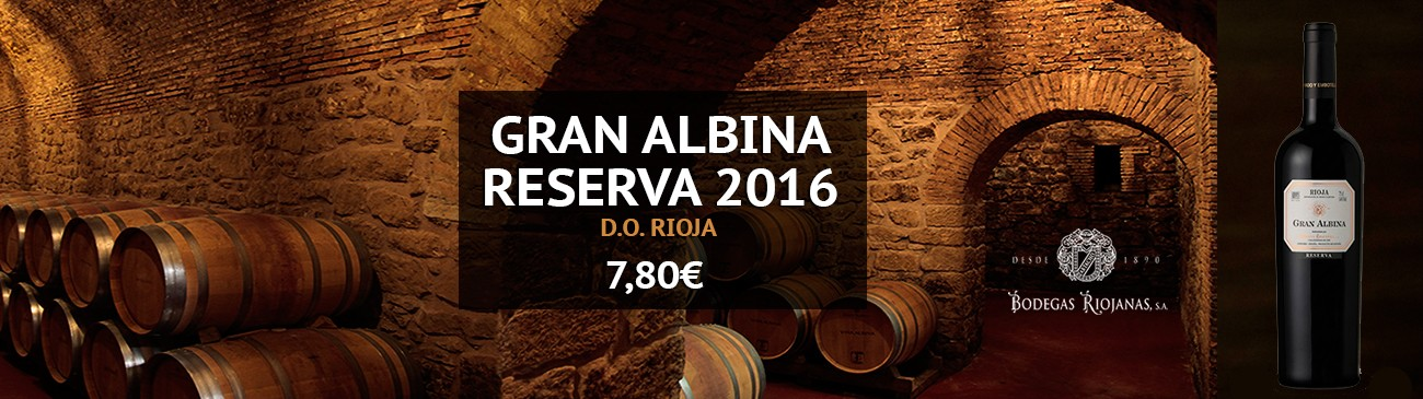 Gran Albina Reserva on sale