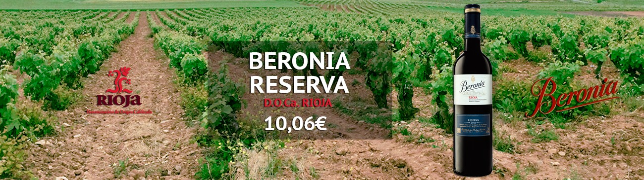 Beronia Reserva 2012 on sale